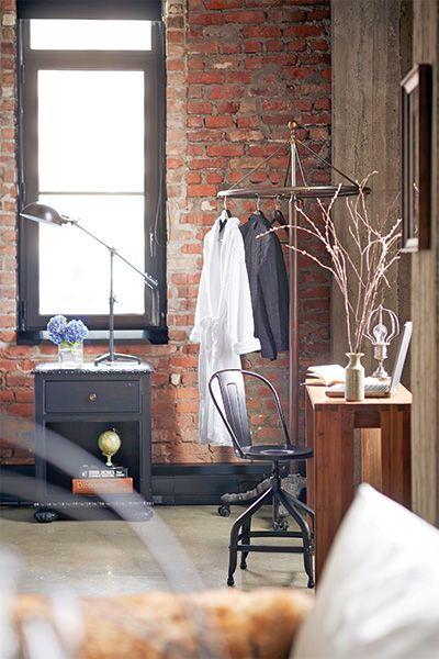 Un loft au d cor industriel les id es de ma maison tva for Decoration de ma maison