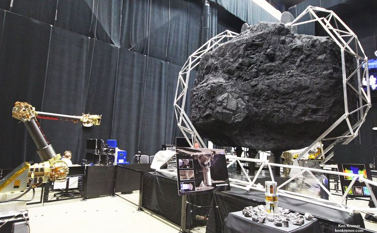 Boulder Extraction and Robotic Arm Mechanisms For NASA's Asteroid Redirect Mission Start Rigorous Testing at NASA Goddard