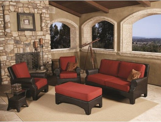 4pc Santa Barbara Outdoor Furniture Wicker Sofa Seating Set by Sunset West  - Max Furniture - 24 Best Images About For The Yard On Pinterest Folding Picnic