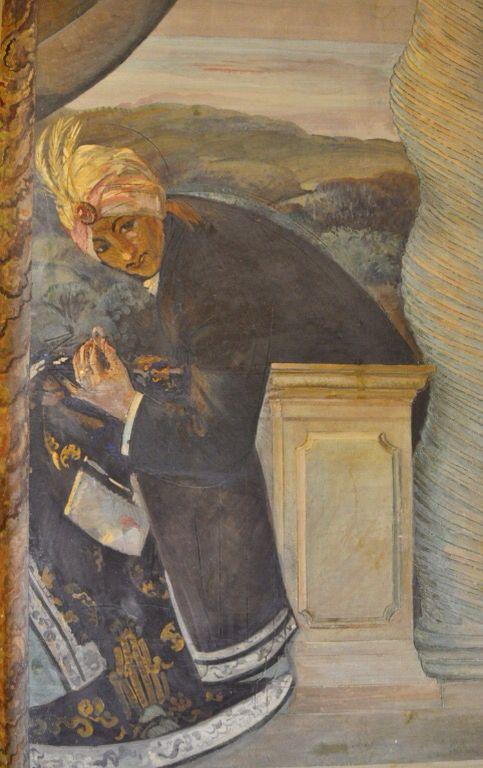 Guido Cadorin - Fresco at Hotel Ambasciatori Roma