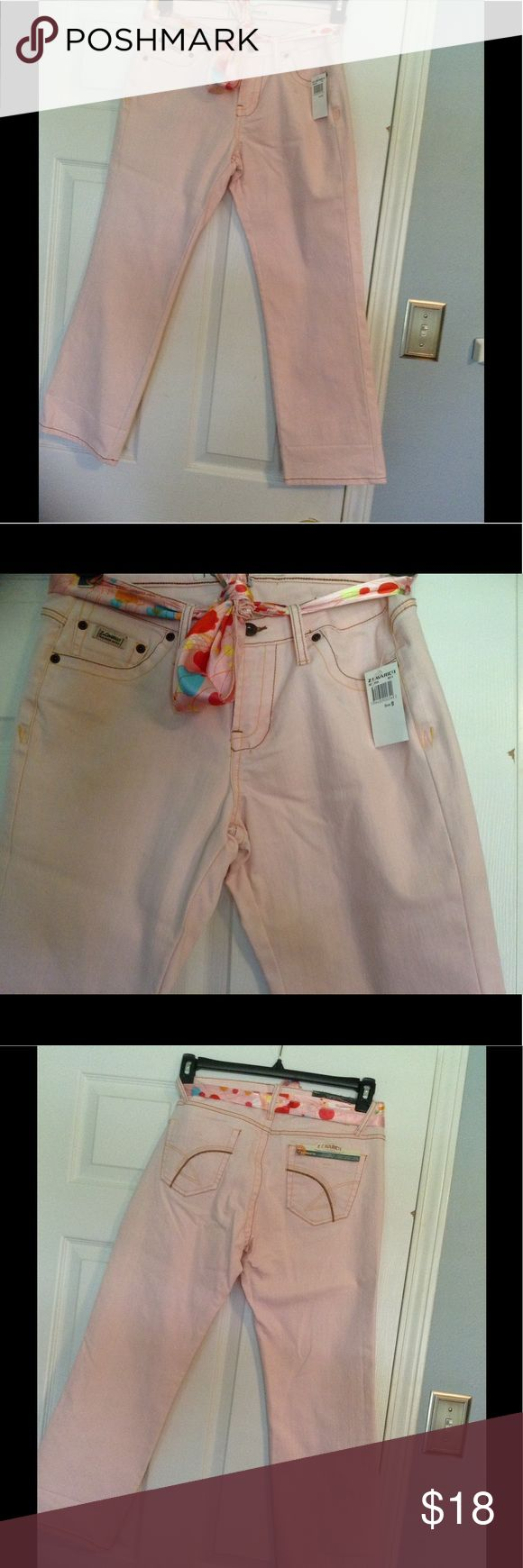 Z Cavaricci Light Pink Jeans never been worn z cavaricci Jeans Ankle & Cropped