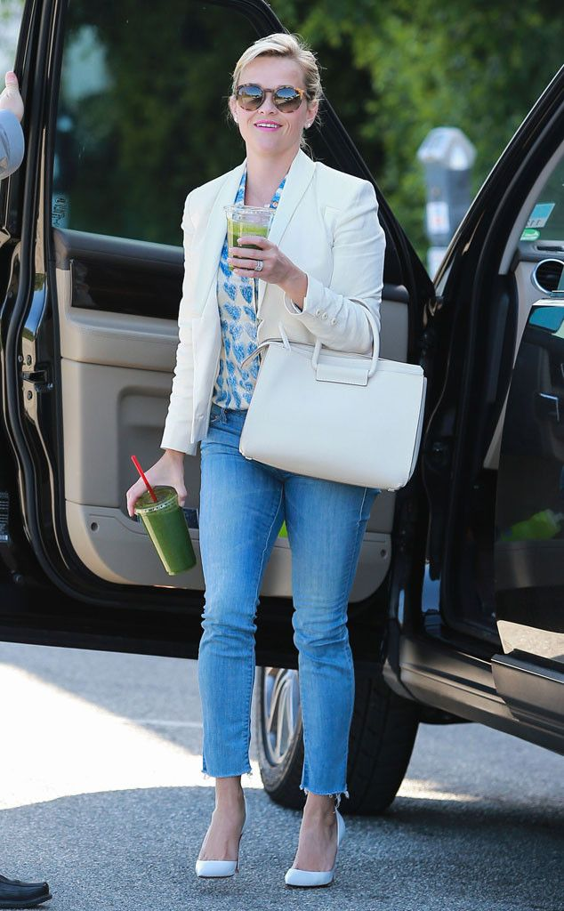 Can Reese get any cuter! Absolutely love her style from The Big Picture: Today's Hot Pics | E! Online