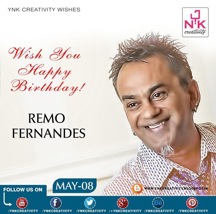 YNK Creativity wishes Happy Birthday to Remo Fernandes