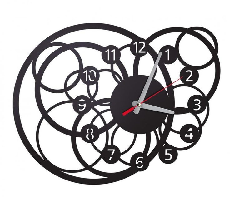 Zegar ścienny Galactica - DECORTIS.COM