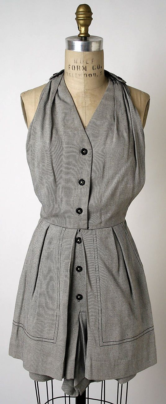 Playsuit - Clare McCardell 1943