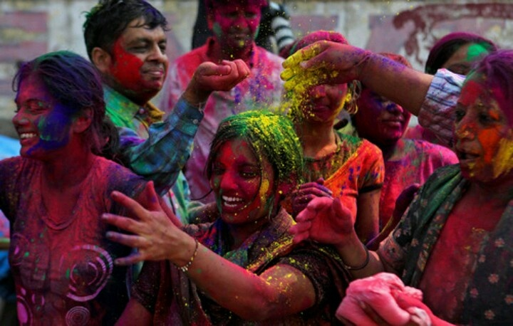 Love holi festival