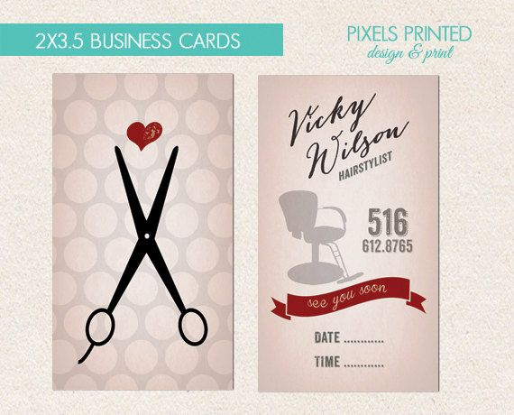 Hair stylist business card quotes colourmoves