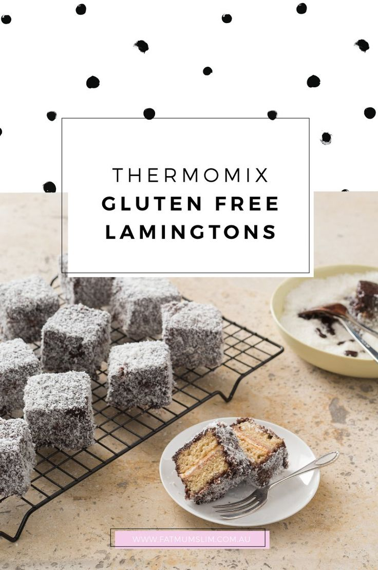 Thermomix Gluten-Free Lamingtons Recipe