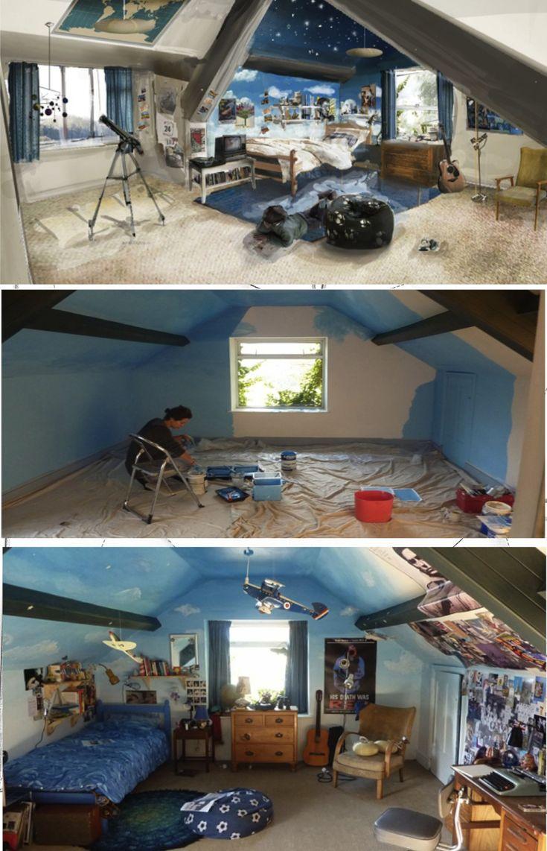 Oliver Tate's Room- Submarine.