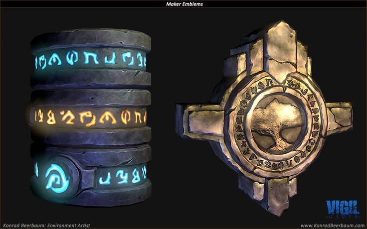 Konrad Beerbaum Online Portfolio, maker emblems finalised
