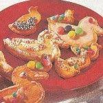 Cukrovi na Vanoce: Kachničky-recept na vanočni cukrovi