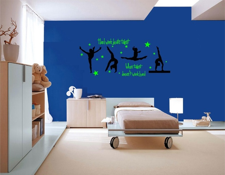 Hard work beats talent when talent does 39 nt work hard for Bedroom mural ideas