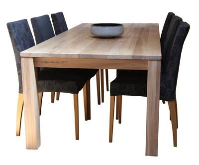 Solid oak dining table from Solidoak.co.uk