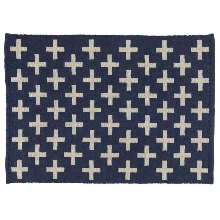 8 x 10' Indoor + Outdoor Rug (Blue)