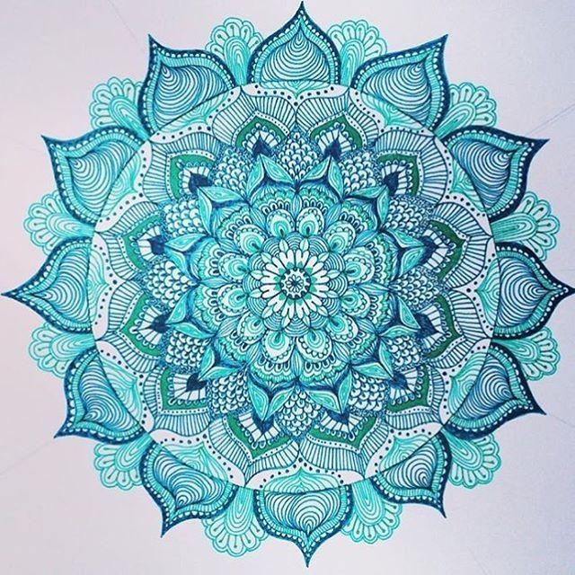 by sira.mercan.design. mandala