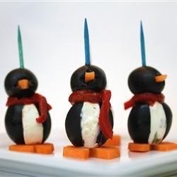 Cream Cheese Penguins Allrecipes.com  So cute!