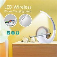 LED Wireless Phone Charging Lamp