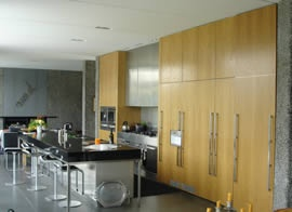 These people could be an opinion for kitchen etc...  Wood Solutions - Products - Woodwork | Joinery NZ