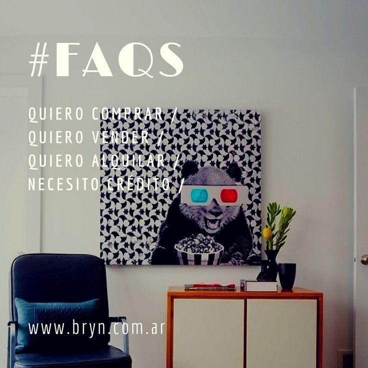 NUESTRA SECCIÓN DE LA PÁGINA MÁS VISITADA! respondemos todas las preguntas frecuentes que nos hacen nuestros clientes! Si tenés alguna duda más escribínos a hola@bryn.com.ar #inmuebles #alquila #compra #vende #credito #hipotecario #departamento #argentina #buenosaires #belgrano #nuñez #palermo #inmobiliaria #aptocredito #arquitectura #hogar #propiedades #inmueble #quierocomprar #quierovender #quieroinvertir #bryn #asesorinmobiliario