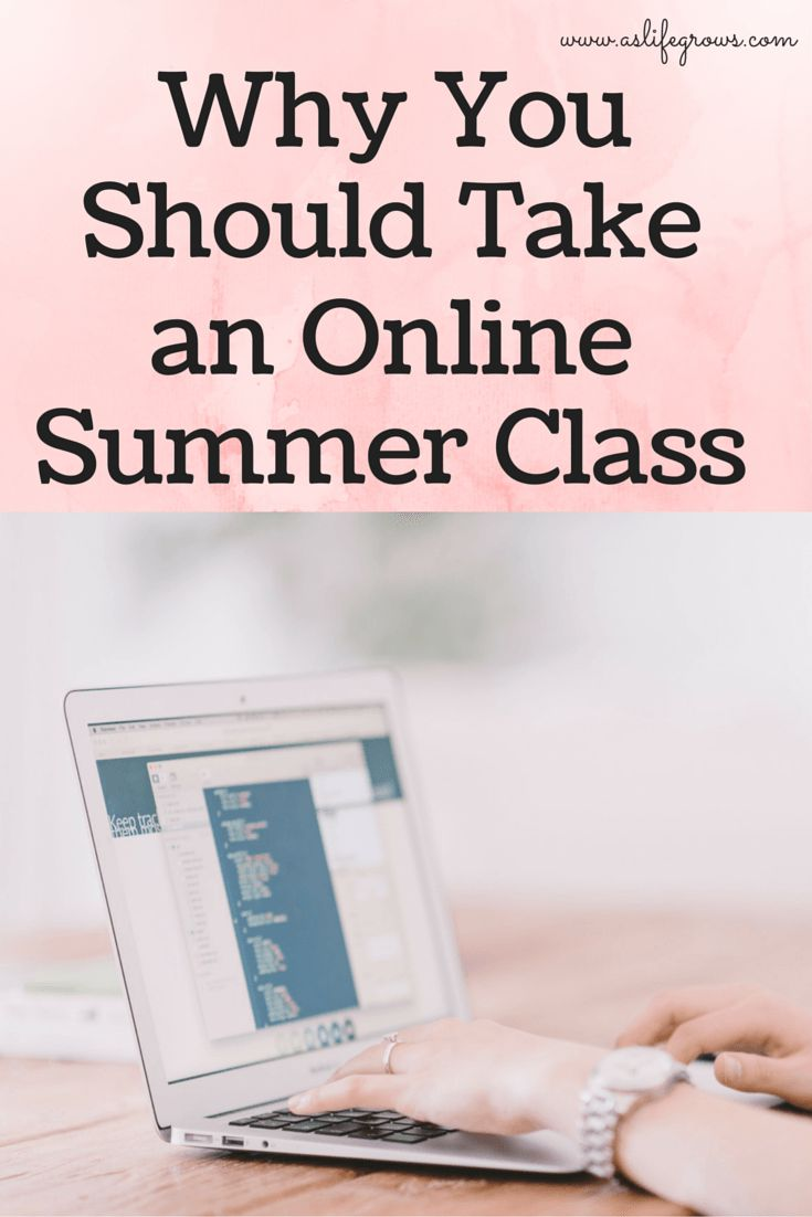 There are many circumstances where taking a summer class is beneficial. To encourage you, here are a few reasons why you should take an online summer class!