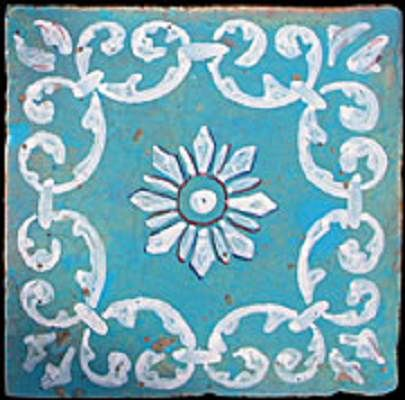 Antique Italian floor tiles. www.recuperando.it