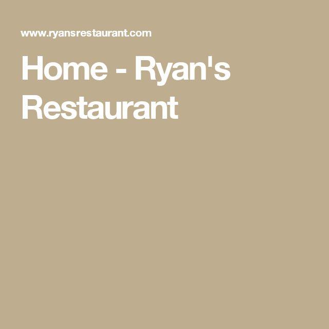 Home - Ryan's Restaurant