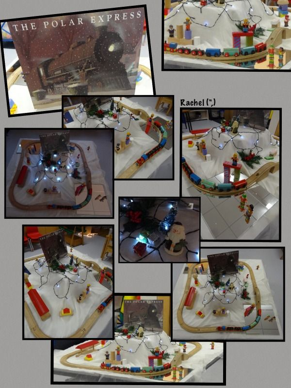 Polar Express Small World Play (from Stimulating Learning with Rachel)