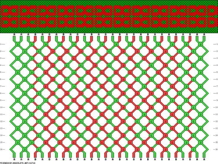 42718 Friendship Bracelets Net Pattern Friendship