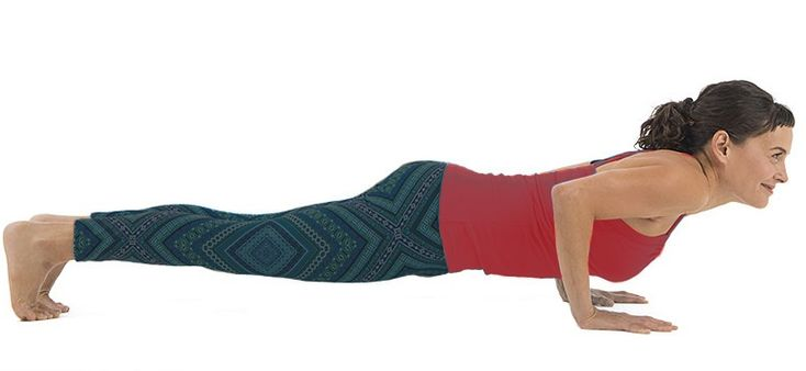 Chaturanga Dandasana {Four-limbed staff pose}-Steps And ...