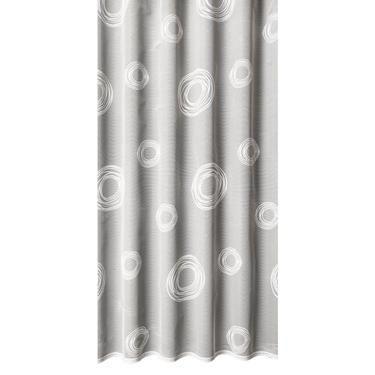 Spin Drop Sheer White 213 cm