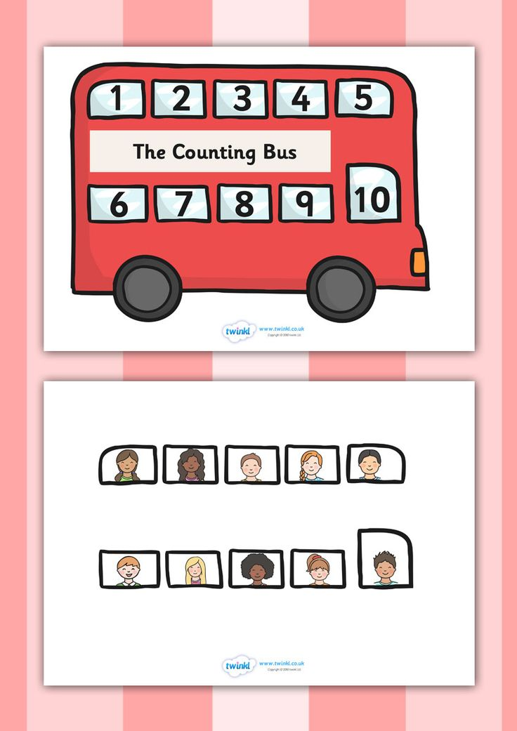 twinkl resources interactive bus counting activity classroom printables for pre school. Black Bedroom Furniture Sets. Home Design Ideas