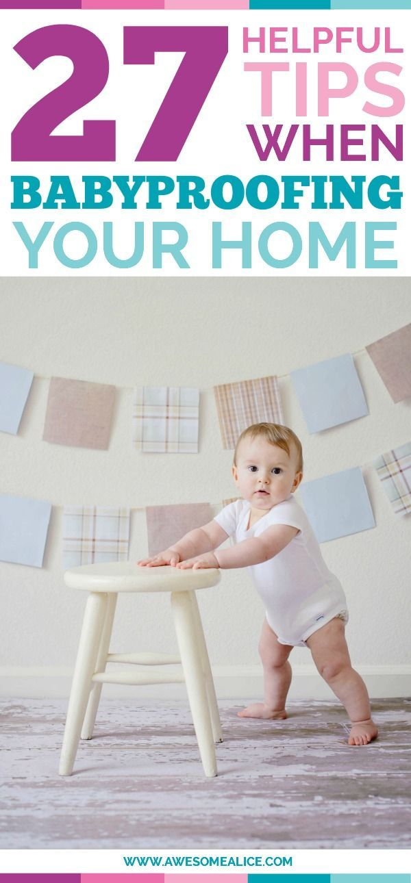 Helpful tips when baby proofing your home. How to babyproof your home. How to childproof. Childproofing guide. Babyproofing guide. The best babyproofing products. www.awesomealice,com | #babyproofing #babyproof #childproof #safety #kidssafety #keepthemsafe