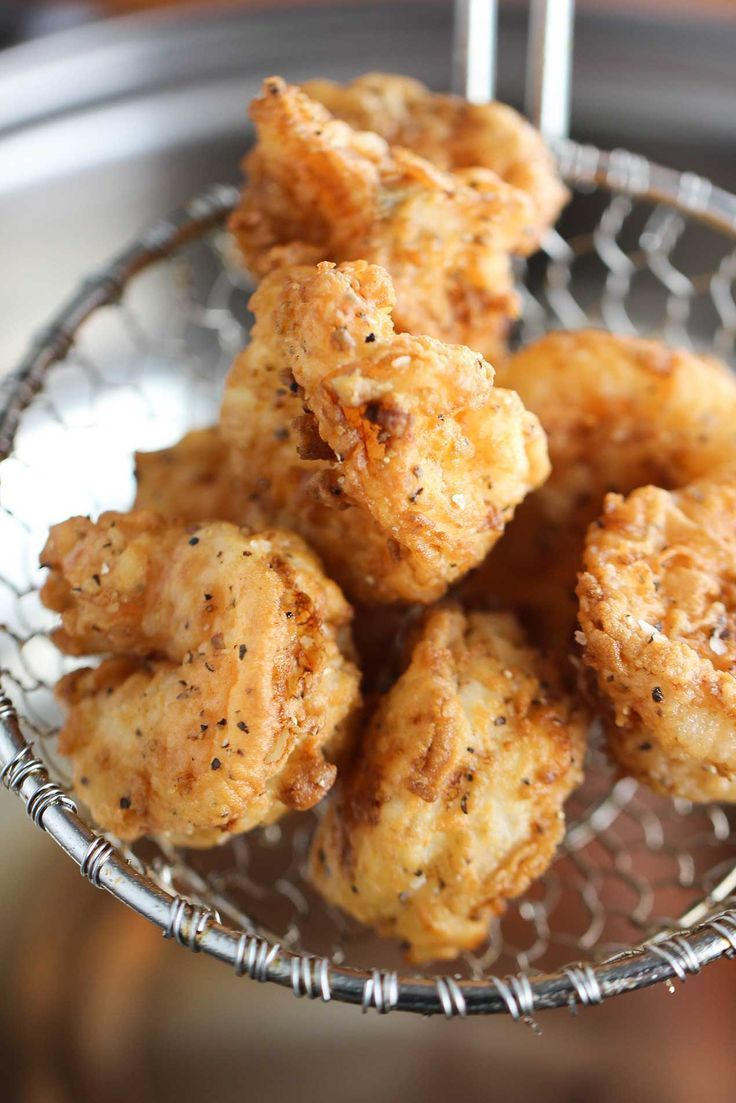 Southern Fried Shrimp recipe #seafoodrecipes