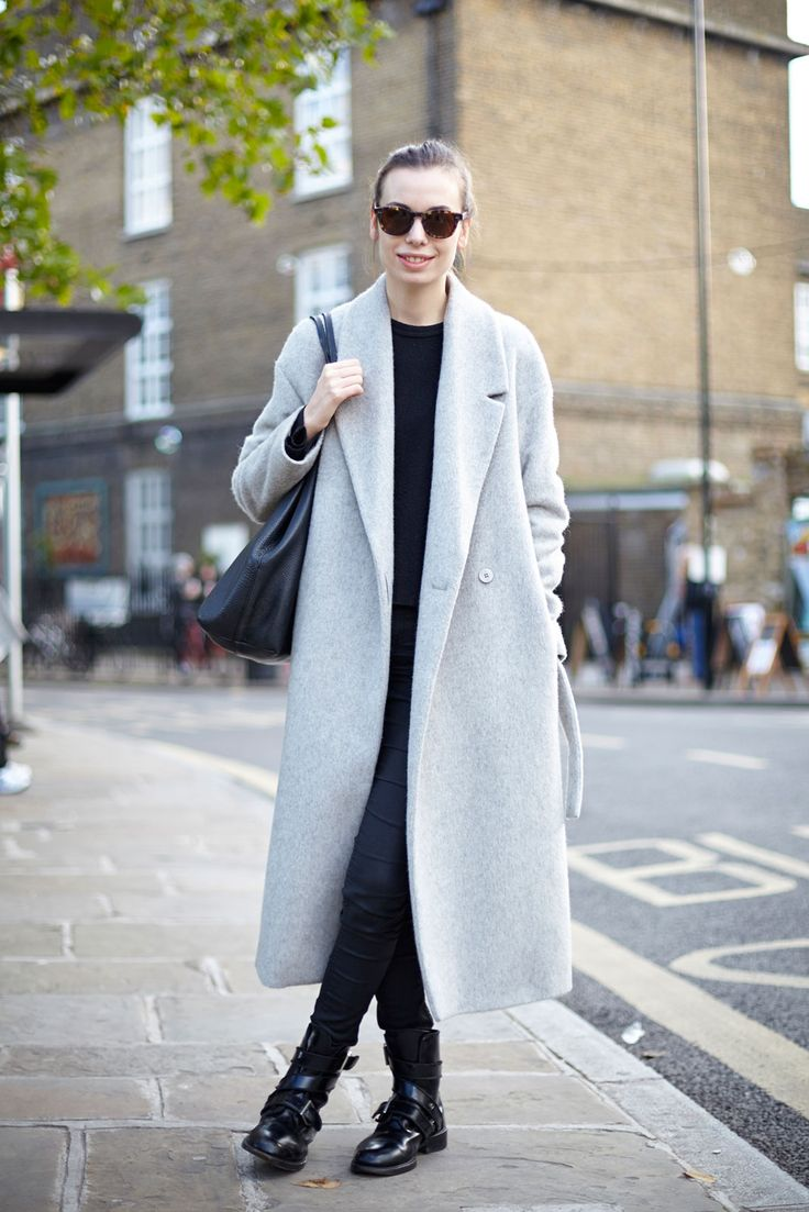 27 Too-Cool Winter Street-Style Snaps #refinery29 - love this coat from Debenhams
