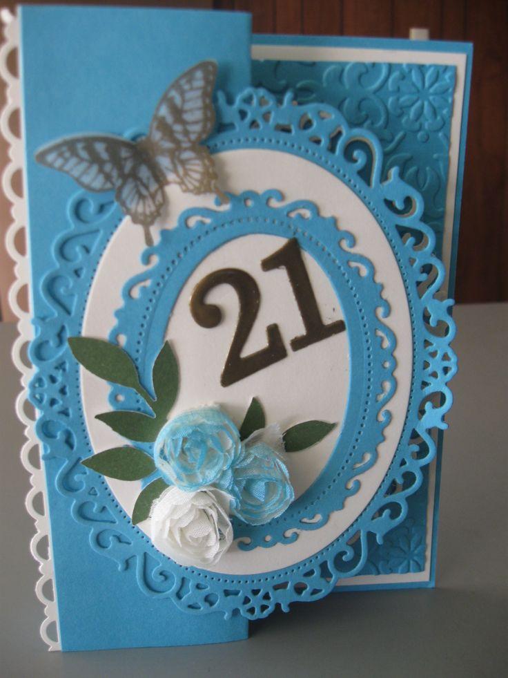 21st Birthday Card 21st birthday cards, Birthday cards