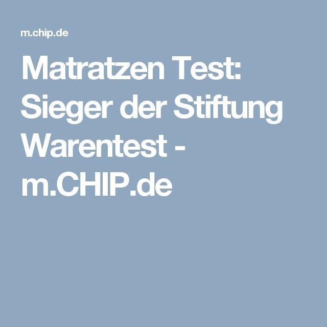 Kaltschaummatratze test  Pinterest'teki 25'den fazla en iyi Testsieger matratzen fikri ...