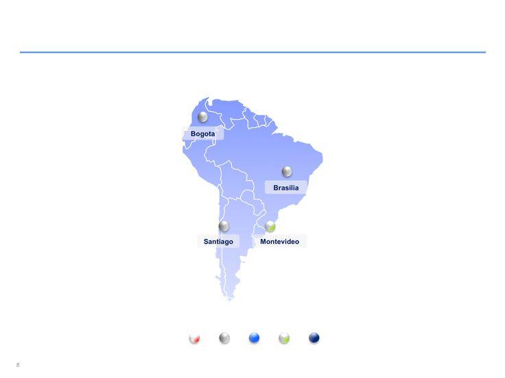 Descarga ahora Mapas de Sudamérica editables en Power Point