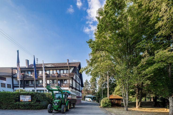 Ein besonderes Highlight des AKZENT Hotel Frankenbrunnen sind die Planwagenfahrten.