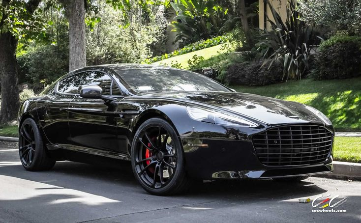 Aston Martin Rapide S with CEC Forged Wheels and Black Out #astonmartingrapide