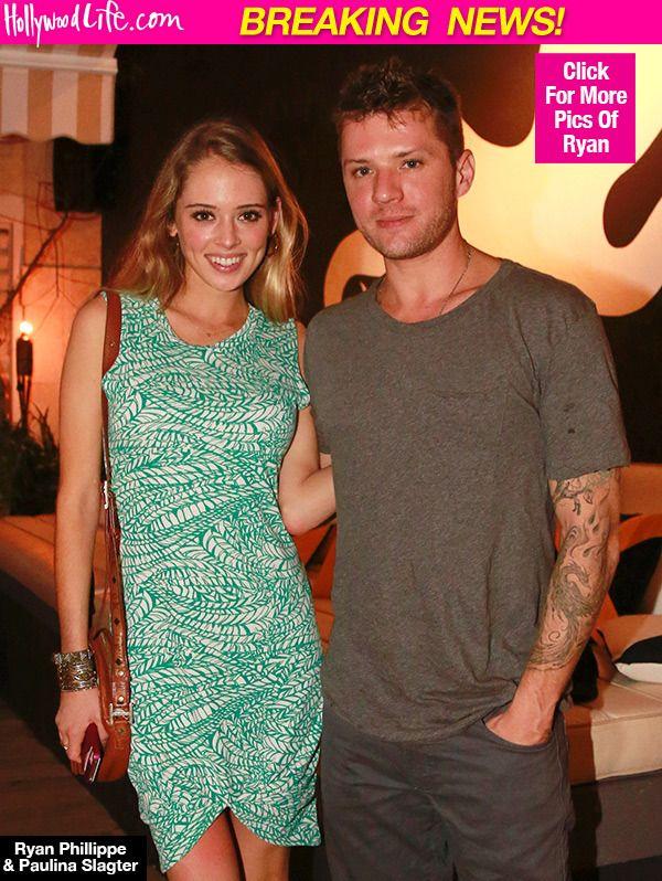 Ryan Phillippe & Paulina Slagter Engaged — Congrats