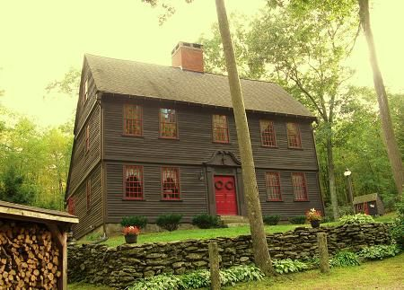 1000 images about colonial primitives buildings on - Early american exterior lighting ...