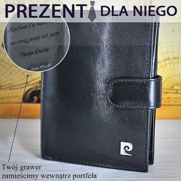 Dla każdego kto lubi praktyczne podarunki - portfel Pierre Cardin. http://bit.ly/1W2gNP7