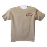 Ringknecktrout Trouts Pebble S Imprinted Mens Cotton Short Sleeve T-ShirtBy Ringknecktrout