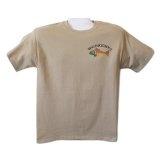 Ringnecktrout Trouts Pebble XL Imprinted Mens Cotton Short Sleeve T-ShirtBy Ringnecktrout