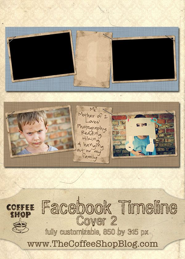 Free CoffeeShop Facebook Timeline Cover 2!