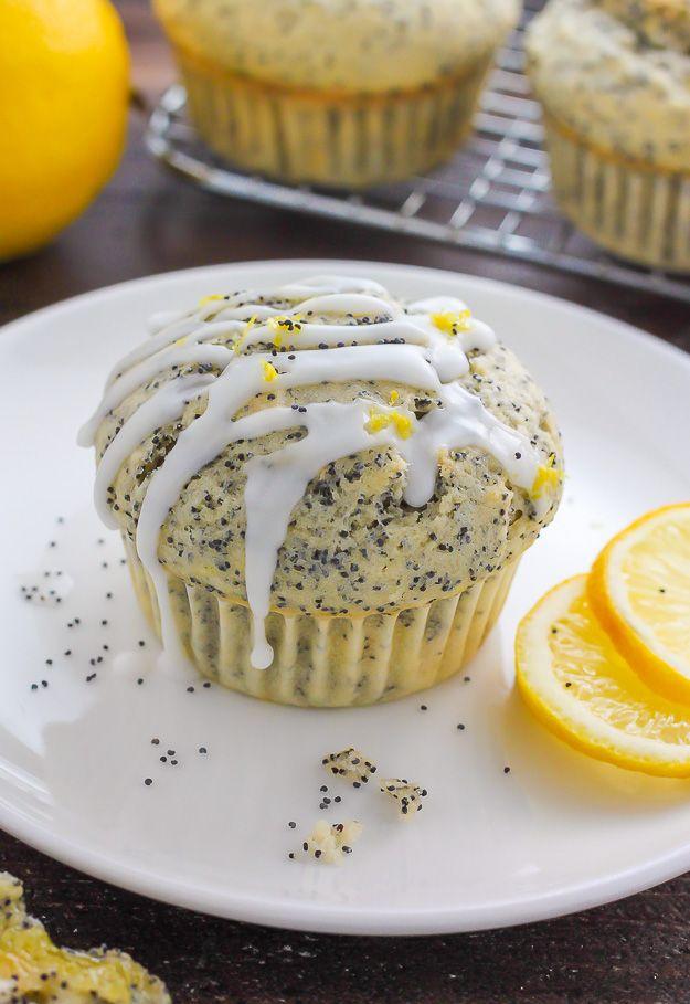 Ultimate Lemon Poppy Seed Muffins - so moist and bursting with sweet lemon flavor!