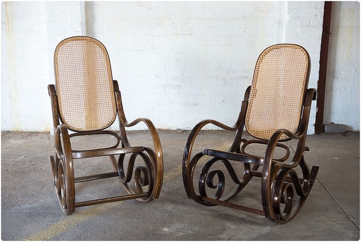 SOLD! #NorthcliffAntiques #Lounge Early 20th century rocking chairs: The style of bentwood furniture is most commonly associated with Thonet of Austria but this set of rocking chairs still has their original labels stating their place of origin as Italy. #Johannesburg #Antique #Shops #Furniture
