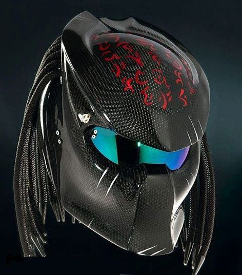 Predator helmets  Basic Helm NHK Certificate DOT, Full Face Surely that's been…