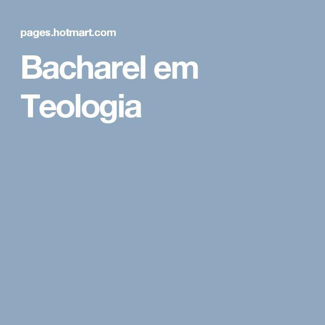 Bacharel em Teologia