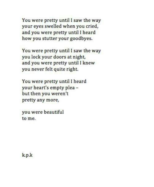 I wish someone would find me pretty for that..